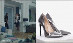 Kara Sevda Nihanın 69.Bölümde Giydiği topuklu ayakkabı