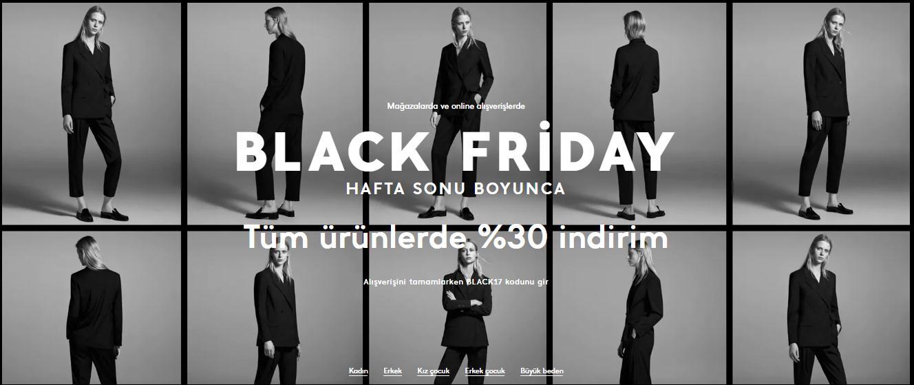 Mango Black Friday indirimi