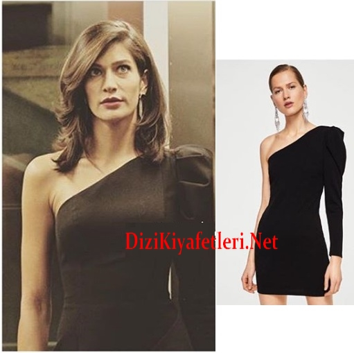 Ci 7 Bolum Ozge siyah elbise