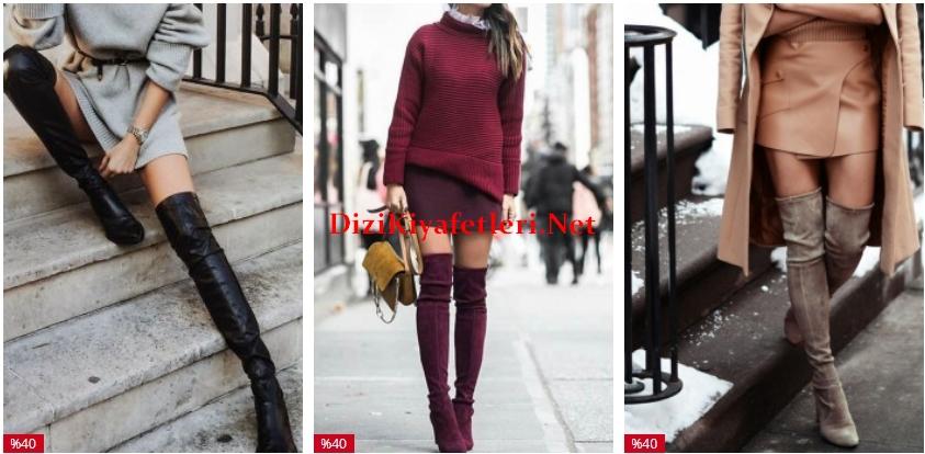Lidyana corap cizme modelleri