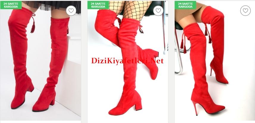 Trendyol corap tarzi cizme modelleri