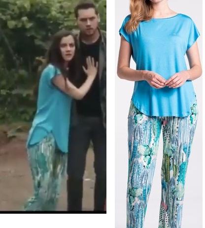 Sen anlat Karadeniz 19 Bolum Nefes pijama takımı