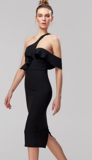 Yasak Elma 10 Bolum Ender siyah elbise