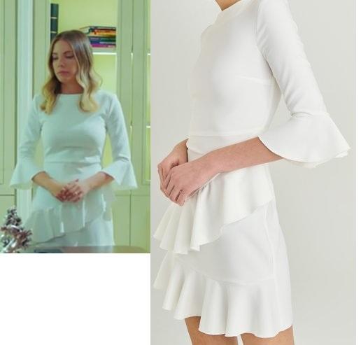 Yasak Elma 11 Bolum Yıldiz beyaz elbise
