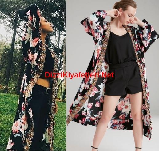 istanbullu Gelin 49 Bolum Dilara kimono