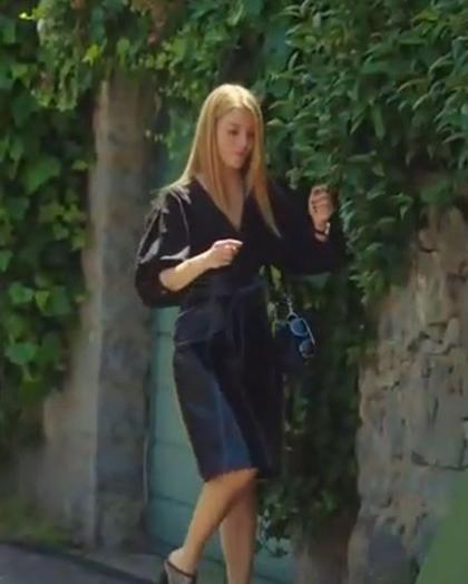 ufak tefek cinayetler 30 Bolum Pelin siyah elbise