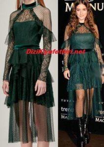 Hazal Kaya elbise