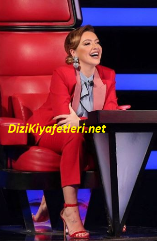 O ses Türkiye Hadise Kırmızı Takım