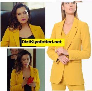Yasak Elma Şevval Şam Sarı Ceket
