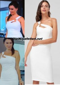 Yasak Elma Ender beyaz Elbise