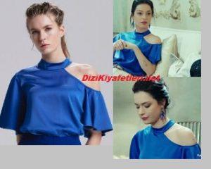 Zehra mavi bluz