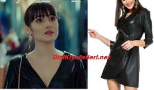 Yasak Elma Zeynep Deri Elbise