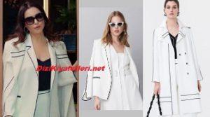 Ender beyaz ceket