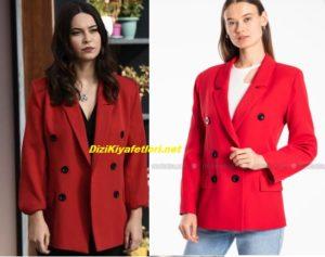 Vuslat Feride Kırmızı ceket