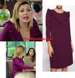 Yasak Elma Zerrin elbise