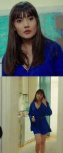 Zeynep lacivert elbise