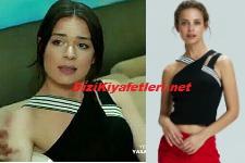 Yasak Elma Zehra siyah bluz