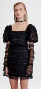 Zalim İstanbul Şeniz siyah elbise