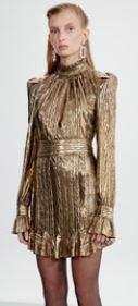 Zalim İstanbul Damla gold elbise