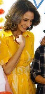 Hercai Reyyan Sarı Elbise