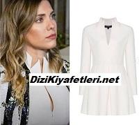 Yasak Elma Yıldız Beyaz Elbise