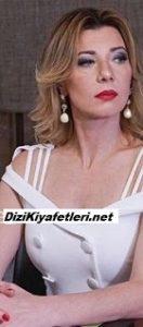 Yasak Elma Zerrin Beyaz Elbise