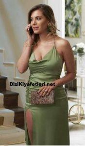 Yasak elma Yıldız yeşil elbise