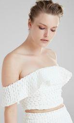 Afili Aşk Ceyda beyaz bluz