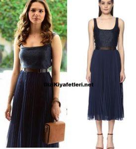 Benim Tatlı Yalanım Hande Mavi elbise