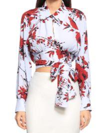 Burcu Özbek giymiş olduğu Bluz markası
