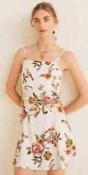 Burcu Özberk askılı elbise