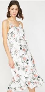 Morhipo beyaz elbise