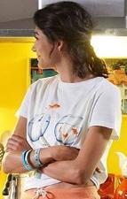 Aybüke Pusat beyaz tişört