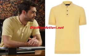 Her Yerde Sen Demir sarı tişört