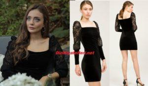 Çukur Dizisi Efsun Siyah Elbise