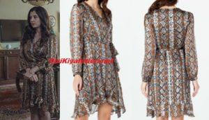 Çukur dizis Ayşe elbise markası