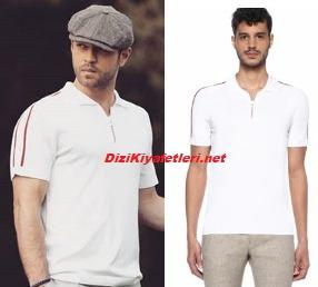 Furkan Andıç beyaz tişört