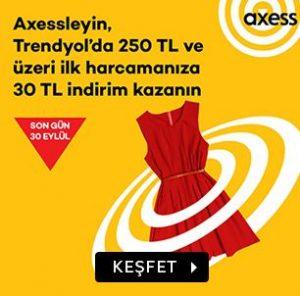 Trendyol Axess banka kampanyası
