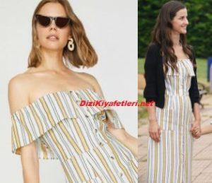 İrem Helvacıoğlu sarı elbise