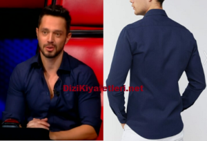 Murat Boz Lacivert gömlek markası