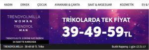 Trendyol Triko kampanyası