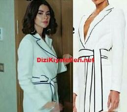 Yasak Elma Şahika Beyaz Elbise markası