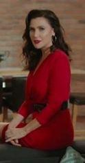 Şevval Sam kırmızı elbise
