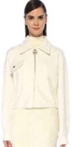Hande Ercel beyaz ceket