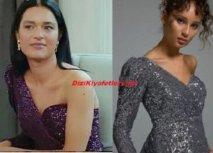 Yasak Elma Zehra payetli bluz
