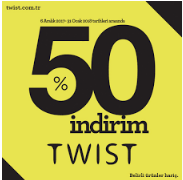 Twist %50 Black Friday İndirimi