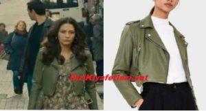 Doğduğun Ev Karderindir Zeynep Yeşil ceketi