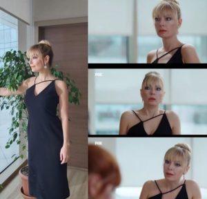 Mucize Doktor Kıvılcım siyah elbisesi