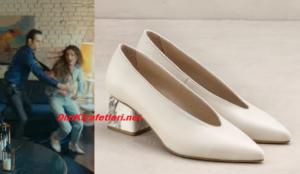 Seferin Kızı Neslihan Atagül topuklu ayakkabısı