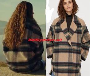 Sefirin Kızı Nare ekoseli ceket
